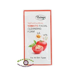 Очищающая пенка для лица с томатом, Belanee
