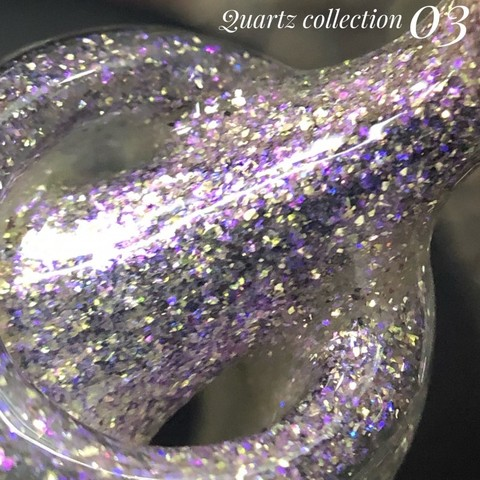 Гель лак BlooMax Quartz collection №3, 12 мл