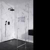 Встраиваемый смеситель для душа с душевым комплектом BLAUTHERM 941502RP240NM черный на 2 выхода - фото №2