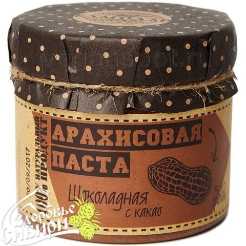 Арахисовая паста Шоколадная, 300 г