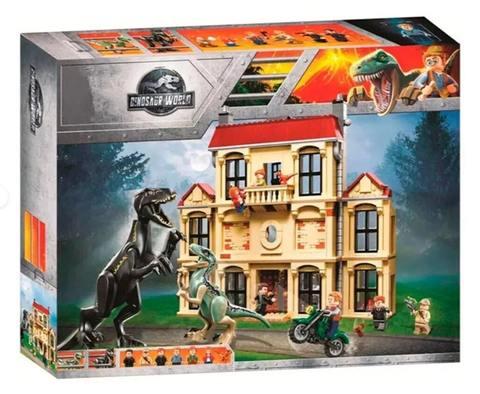 Конструктор Dinosaur World 10928 Нападение Индораптора в поместье Локвуд