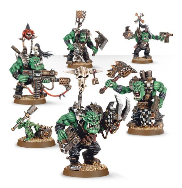 Start Collecting! Orks. Нобы
