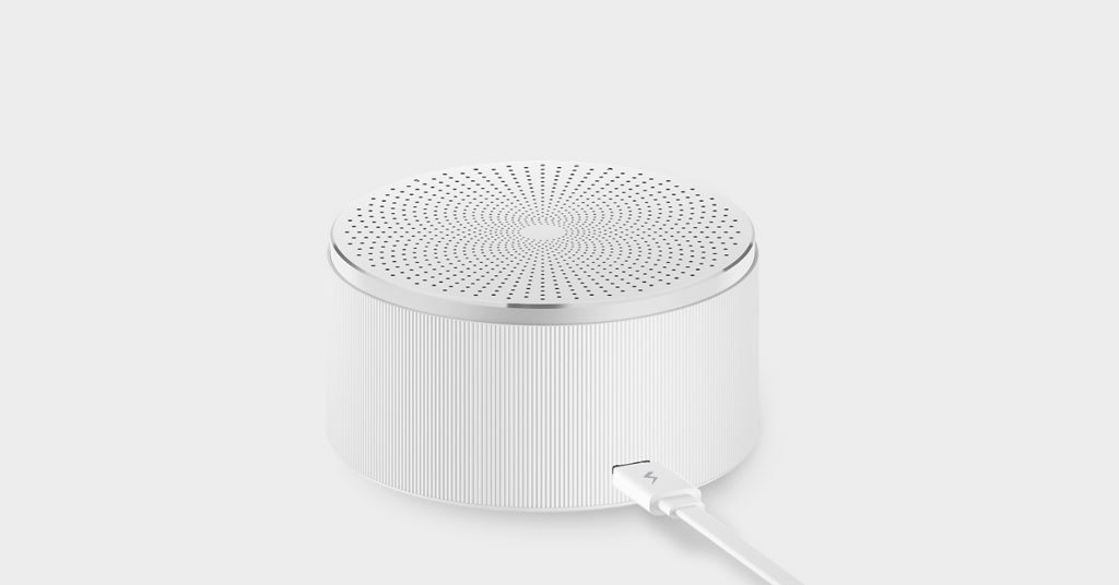 Портативная Bluetooth акустика Xiaomi Mi Round Youth Edition White