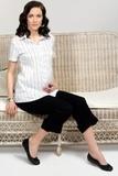 Капри для беременных 04241 черный