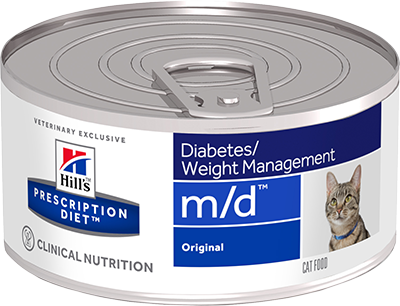 Hill's Ветеринарный корм для кошек Hill`s Prescription Diet m/d, при диабете/лишнем весе мд.png
