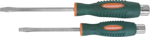D70S6125 Отвертка стержневая шлицевая, ударная, силовая под ключ,SL6.5х125