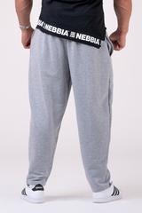 Штаны NEBBIA Beast Mode On iconic sweatpants 186 GREY