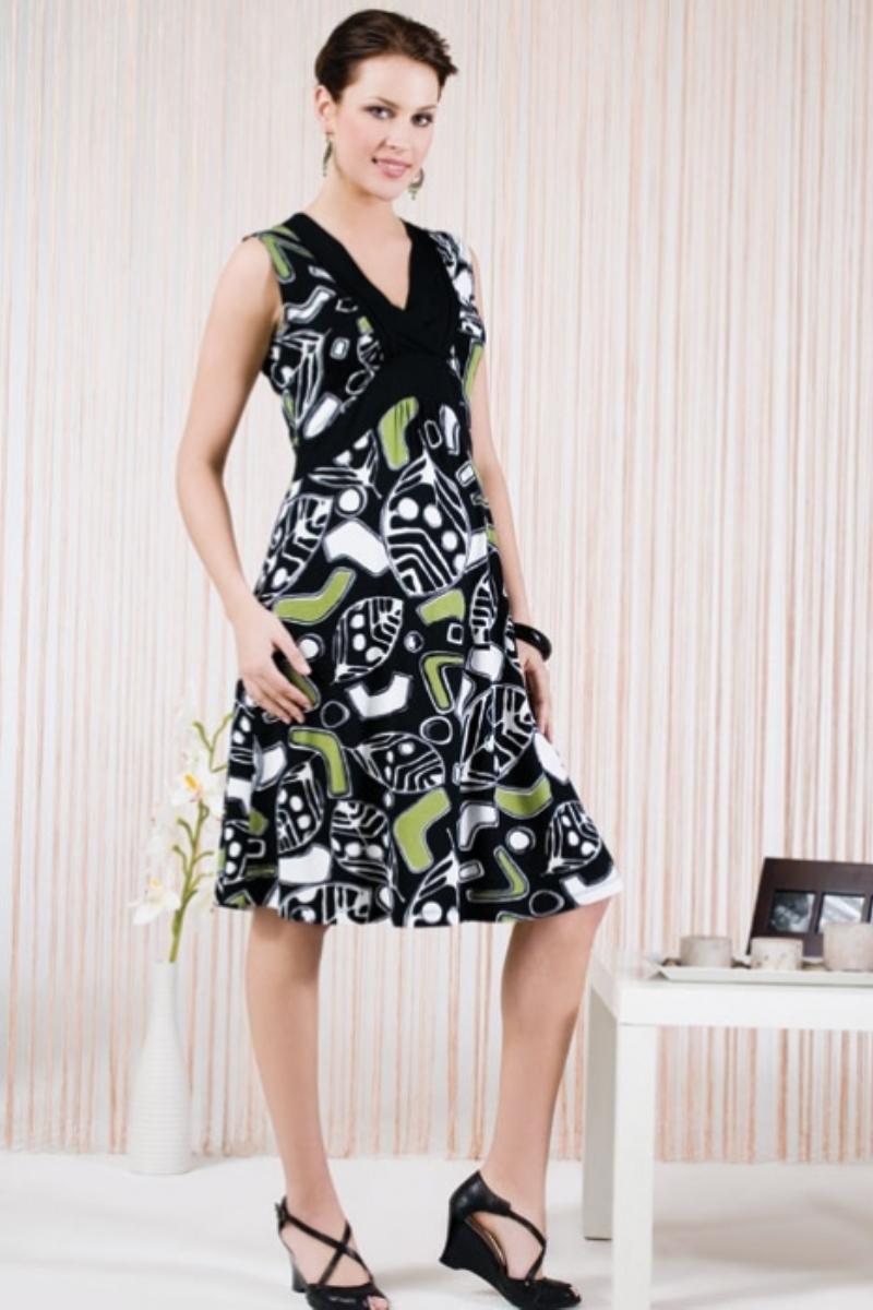 Платье для беременных 05601 черный
