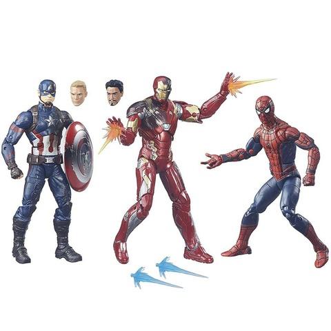 Набор из 3 фигурок Первый мститель: Противостояние