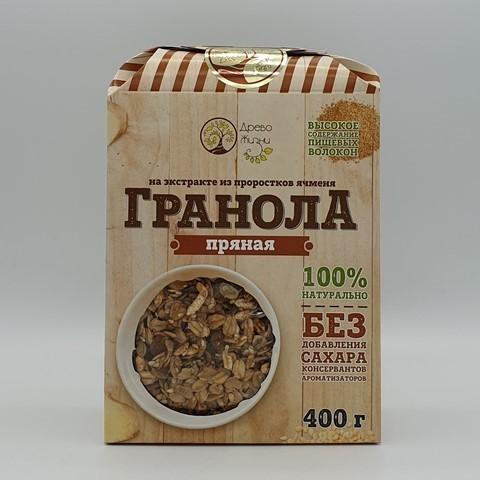 Гранола пряная ДРЕВО ЖИЗНИ, 400 гр
