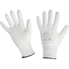 Перчатки рабочие трикотажные нейлоновые с полиуретановым покрытием (размер 10, XL)