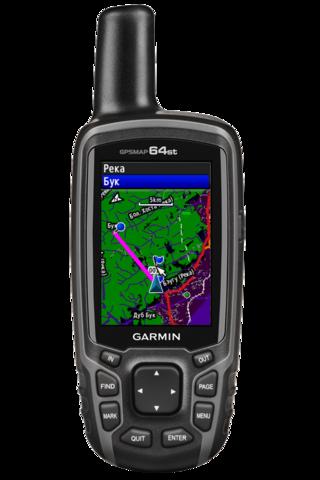 Навигатор Garmin GPSMAP 64st (010-01199-23)