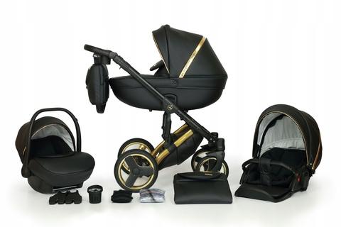 Verdi Babies Mirage Limited 3в1 цвет Gold 2 (черный с золотом)