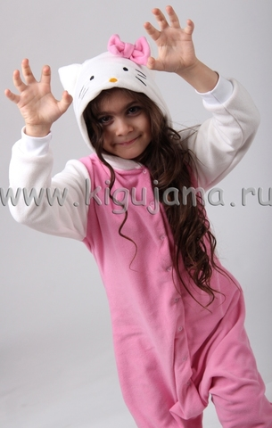 """Пижама кигуруми детская """"Hello Kitty"""""""