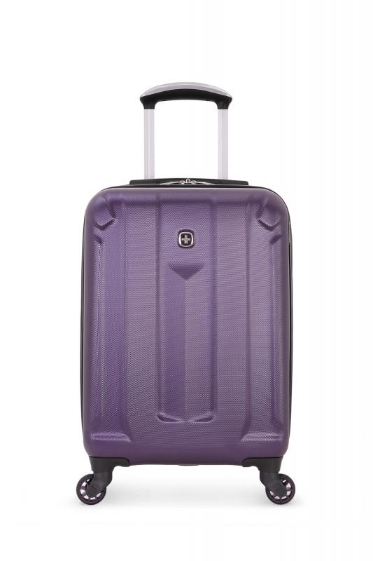 Чемодан WENGER ZURICH III, цвет фиолетовый 35,5x23x56 см, 34 л. (6573909154).