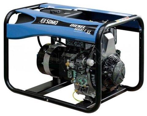 Кожух для дизельной электростанции SDMO Diesel 6000 E XL