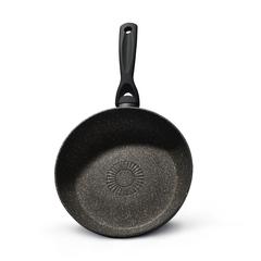 4339 FISSMAN Black Onyx Сковорода 28 см с индукционным дном