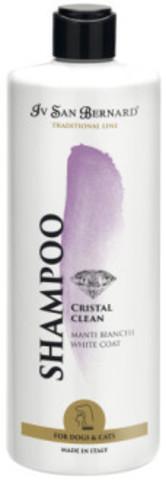 Iv San Bernard (ISB) Traditional Line Cristal Clean шампунь для устранения желтизны шерсти 500 мл