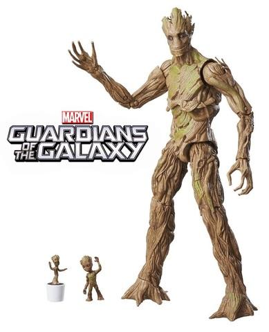 Стражи Галактики Легенды Марвел фигурка Грут Эволюция Эксклюзив