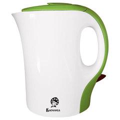 Чайник электрический 1,0л ВАСИЛИСА Т9-1100 белый с зеленым