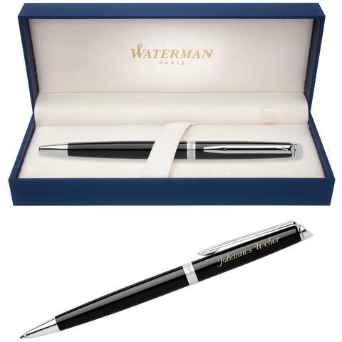 Шариковая ручка Waterman Hemisphere, цвет: Mars Black/CT123