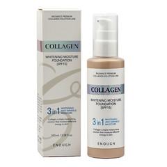 Увлажняющий тональный крем ENOUGH с коллагеном Collagen Moisture Foundation SPF 15, 100 мл, тон 21