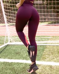 Лосины женские Lion gym CLASSIC BASIC BORDO
