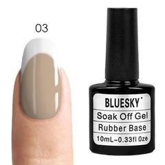 Bluesky, Rubber Base Cover Pink - каучуковая камуфлирующая база № 03, 10 мл