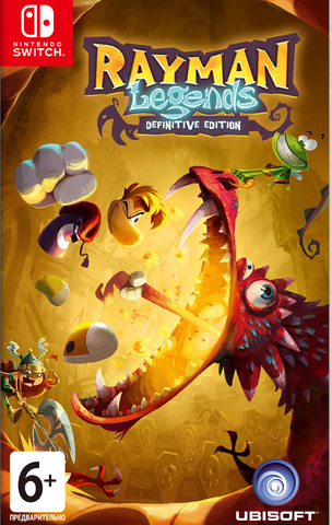 Rayman Legends: Definitive Edition (Nintendo Switch, русские субтитры)