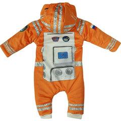 Папитто. Утепленный комбинезон и пинетки Космонавт, оранжевый вид 2