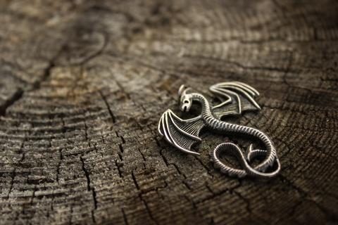 талисман Крылатый Дракон