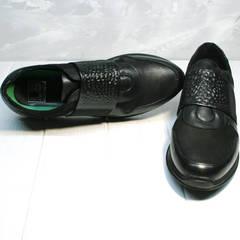 Кроссовки на резинке мужские Luciano Bellini 1087 All Black