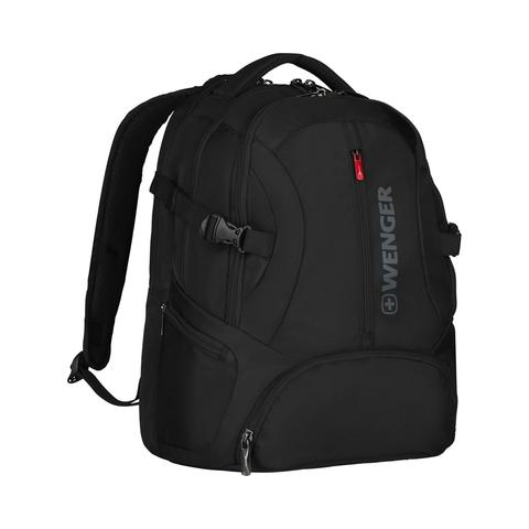 Городской рюкзак чёрный 27 л WENGER Transit 600636