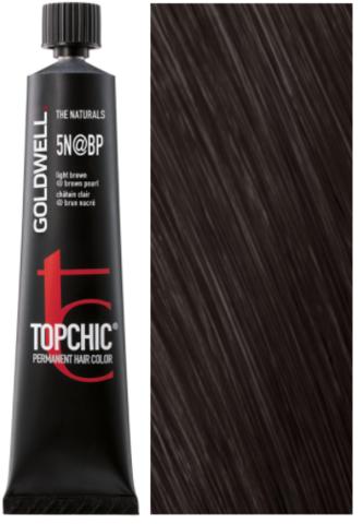 Goldwell Topchic 5N@BP - светло-коричневый с перламутровым сиянием (перламутровый бистр) TC 60ml