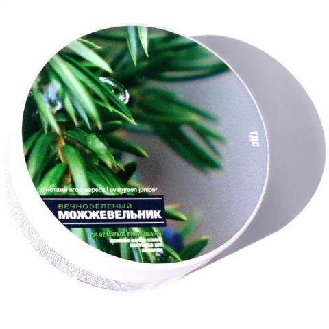 Мыло для бритья ТДС Кремовое: вечнозелёный можжевельник новая формула 85 мл