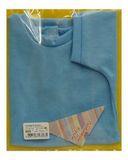 Футболка - Голубой 1. Одежда для кукол, пупсов и мягких игрушек.