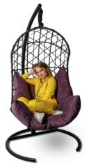 Подвесное кресло Porto Black