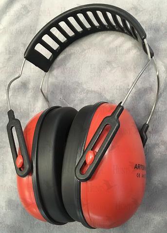 Наушники Artilux Arton красные, суперлегкие