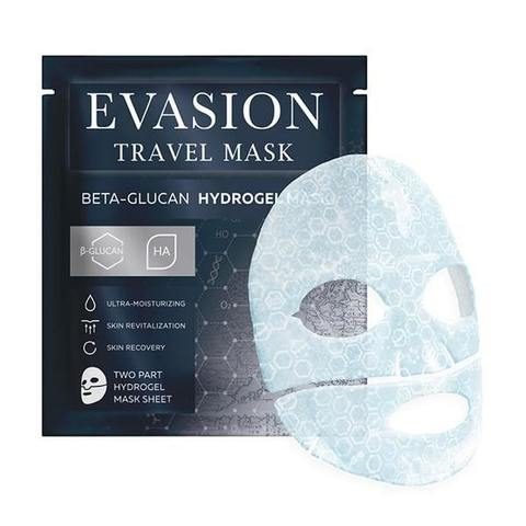 Evasion Travel mask, beta-glucan Hydrogel Mask
