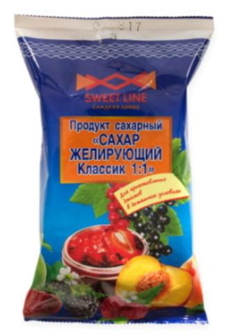 Сахар желирующий Классик 1:1 1кг. Жабинка