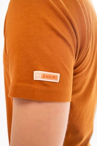 Футболка unisex Swami Four light brown