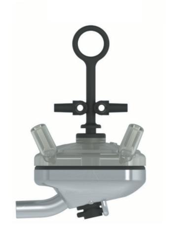 14300 Коллектор UNIFLOW4S из нержавеющей стали с запорным клапаном