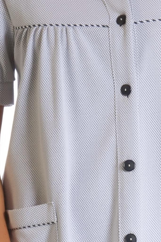 Женский халат с коротким рукавом B&B
