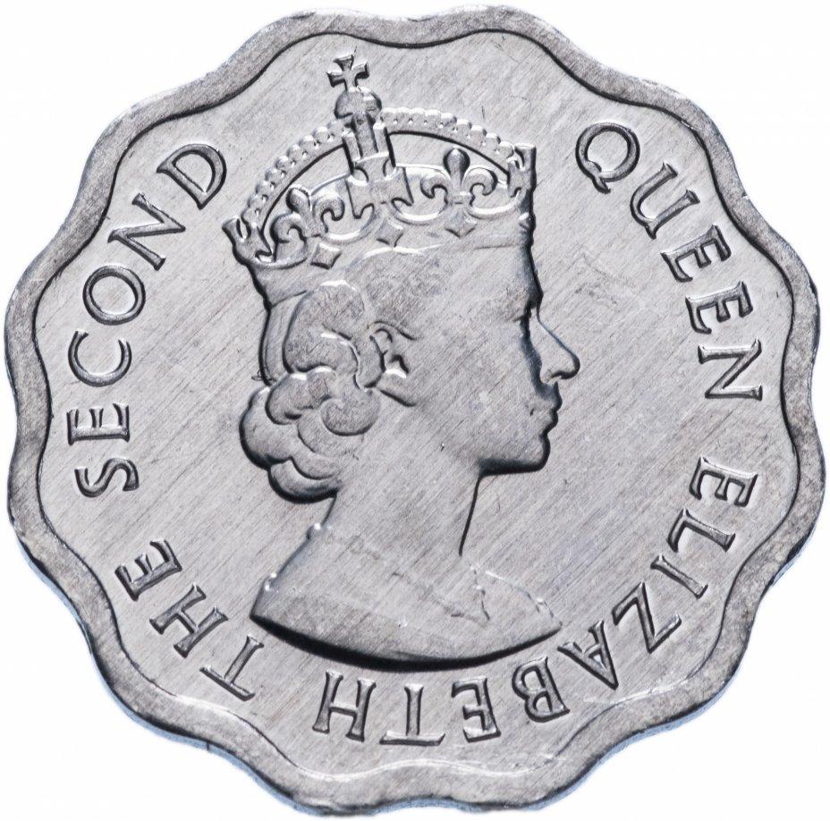 Белиз 1 цент (cent) 2010-2012 периода правления Елизаветы II. UNC