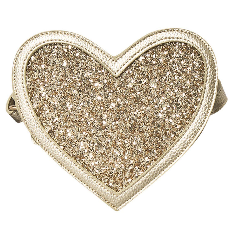 Сумка Molo Heart Bag Gold Glitter