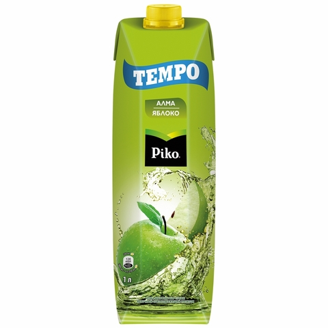 Напиток PIKO Tempo Яблоко 1 л т/п