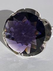 Мак (кольцо из серебра)