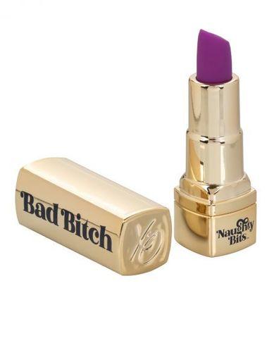 Мини-вибратор в виде тюбика помады Naughty Bits Bad Bitch Lipstick Vibrator
