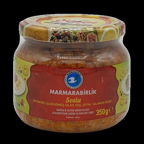 Соус из зеленых оливок со специями MARMARABIRLIK, 350 гр