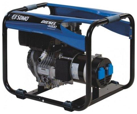 Кожух для дизельной электростанции SDMO Diesel 4000 E XL